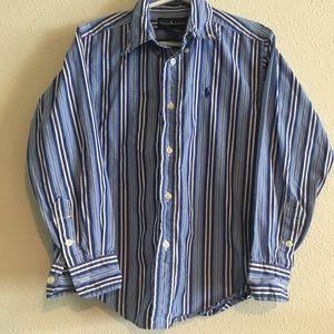 Boys Ralph Lauren Button Down Top Size 5